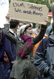 #OWS Burlington Vermont 43 Royalty Free Stock Photos
