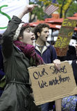 #OWS Burlington Vermont 43 Royalty Free Stock Photo
