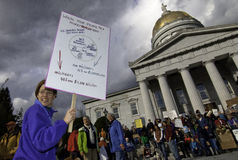 #OWS Burlington Vermont 49 Stock Foto's