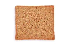 Owsa chleba plasterek zdjęcie stock