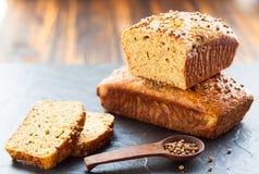 Owsa otręby chleb obrazy stock