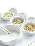 Owsianek foods szpitalni dla pacjenta Zdjęcia Royalty Free