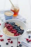 Owsianka z cranberries Zdjęcia Royalty Free