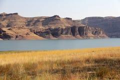 Owyhee öken för sjö, idaho, USA Royaltyfri Bild