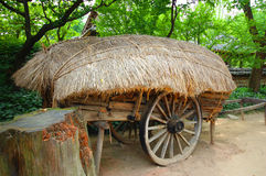 Ox Cart Royalty Free Stock Images