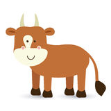 Ox design. Over white background vector illustration Royalty Free Stock Image