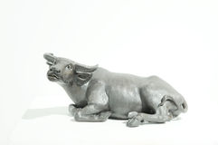 The ox sculpture Royalty Free Stock Photos