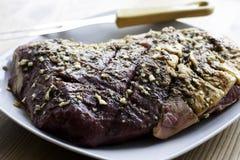 Ox Steak Royalty Free Stock Photo