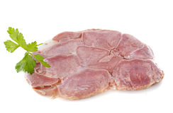 Ox tongue in pate Royalty Free Stock Photo