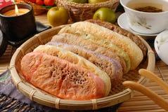 Ox-tongue-shaped pastry Stock Photo