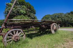 Ox Wagon Settlers Royalty Free Stock Photography