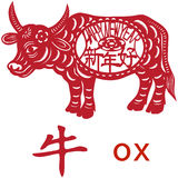 Ox year Stock Photos