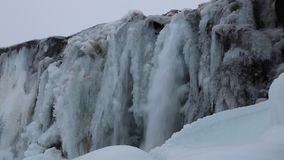 Oxararfoss in Thingvellr NP stock footage