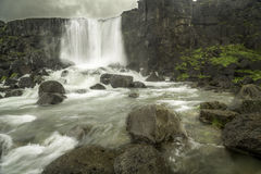 Oxararfoss Stock Photo