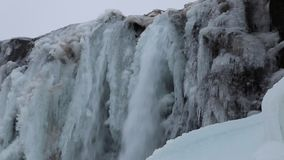 Oxararfoss stock video footage