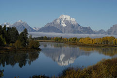 Oxbow Bend near Jackson Hole Stock Photos