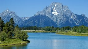 Oxbow Bend in the summer Stock Images