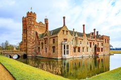 Oxburgh Hall National Trust royaltyfri bild
