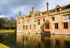 Oxburgh Hall National Trust royaltyfria bilder