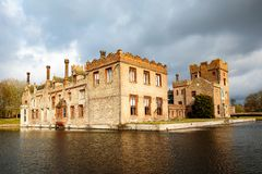 Oxburgh Hall National Trust arkivfoto