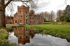 Oxburgh Hall, Norfolk Images stock