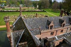Oxburghzaal, Norfolk royalty-vrije stock fotografie