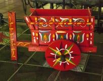 Oxcart de jouet Image libre de droits