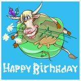 Oxen är det 2nd tecknet av zodiak Royaltyfri Fotografi