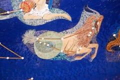 Oxen - zodiak Arkivbild