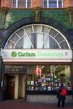 Oxfam bokhandel Royaltyfri Fotografi