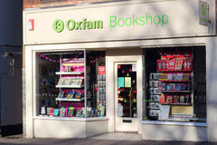 Oxfam bookshop. Royalty Free Stock Images