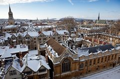 Oxford Royalty Free Stock Photos
