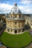 Oxford-Bibliothek Stockbild