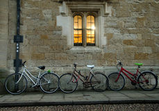 Oxford bicycles Royalty Free Stock Photos