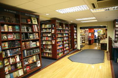 Oxford bookstore interior Royalty Free Stock Images