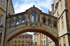 Oxford bridge of sighs Stock Images