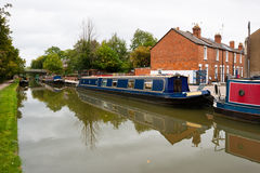 Oxford Canal. UK Royalty Free Stock Images