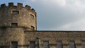 Oxford castle prison jail. Oxford Castle also used as a prison or jail Stock Image