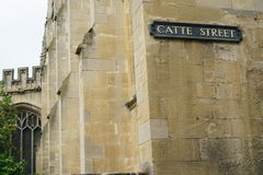 Oxford Catte Street Stock Image