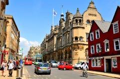 Oxford central Image libre de droits