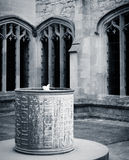 Oxford Christ Church College - the fountain Stock Photos