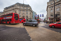 The Oxford Circus crossing in London, UK Stock Images