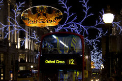 Oxford Circus in London Stock Photography