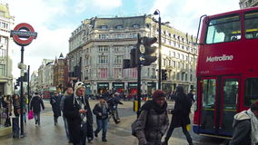 Oxford Circus Stock Image