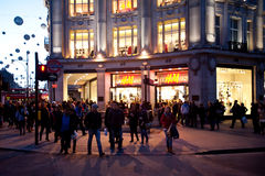 Oxford Circus in London Royalty Free Stock Photo