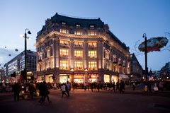 Oxford Circus in London Stock Image