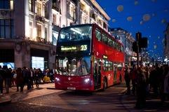 Oxford Circus in London Stock Image