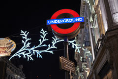 Oxford Circus station Stock Images