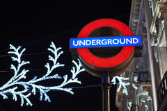 Oxford Circus station Royalty Free Stock Photos