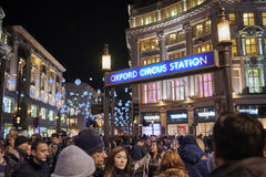 Oxford Circus station Royalty Free Stock Images